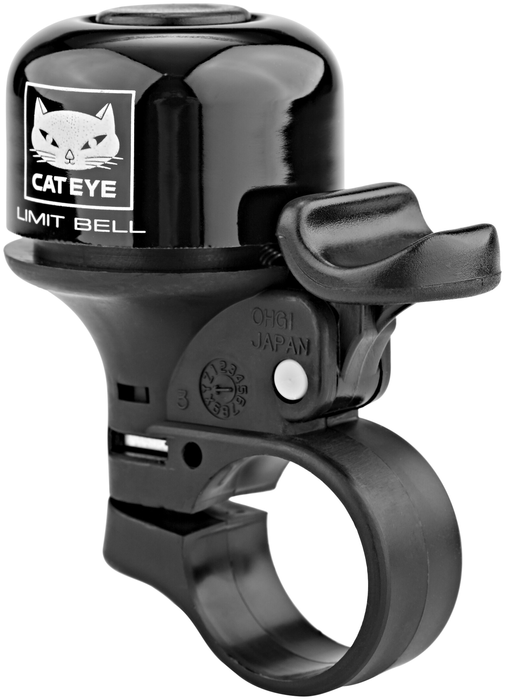 Black CatEye Limit Bicycle Bell